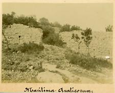 France, Martigues, Maritima Avaticorum, ca.1908, Vintage citrate print  Vintage