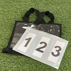 Equetech Cross Country Eventing Numbers for Bib (bib not included) - PAIR *NEW*