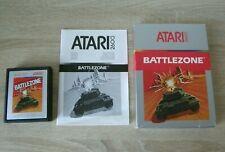Battlezone (complete) - Atari 2600 - battle zone