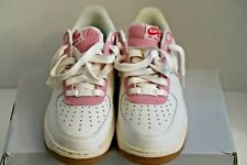 Nike Air Force 1 Low Sail University Red Gum Bottom Sole Men's Sneaker Size 9.5
