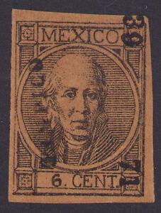 dg05 Mexico #58 6ctv Tampico 39-71 Mint No Gum Very Fine Est $20+