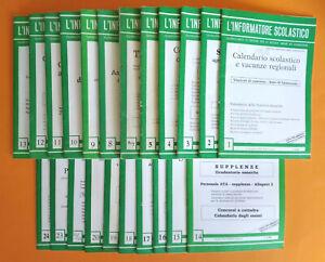 Rivista L'INFORMATORE SCOLASTICO XXVII Annata COMPLETA 22 Numeri 1991 scuola