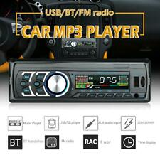 1Din Single Car In-Dash Stereo Audio USB FM Radio Bluetooth Head Unit MP3 Player