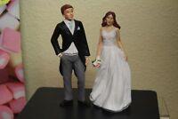 DOLLS HOUSE  RESIN FIGURES ( Wedding Couple )