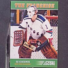 ED GIACOMIN  2012/13  Score  The Franchise  #OS5  New York Rangers