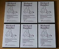 "Richard Bandler: Building & Maintaining Generalizations"" NLP 6 DVD set"