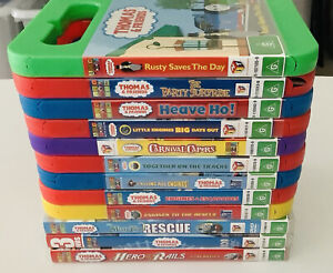 12x Thomas The Tank Engine DVD Lot Bulk Collection DVDs TV Kids Children's