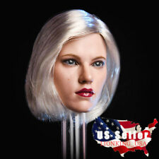 "1/6 Scarlett Johansson Black Widow Head Sculpt For 12"" PHICEN Female Figure USA"
