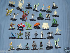 BEN TEN 10 MINI CHARACTERS ACTION FIGURES VARIOUS AVAILABLE MULTI LISTING