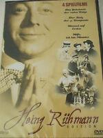 Heinz Rühmann & Moser 4 Filme -  Himmel auf Erden, Stolz 3. Kompanie, Rote Katze