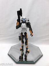 """Custom 1/18 Microman Clone Republic Commando Scorch Star wars 4"""" Figure"""