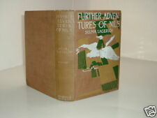 FURTHER ADVENTURES OF NILS By SELMA LAGERLOF 1911 rare
