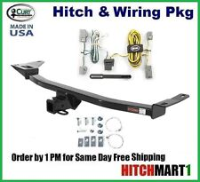 """2005-2007 FORD FREESTLYE CLASS 3 CURT TRAILER HITCH & WIRING  2"""" TOW RECEIVER"""