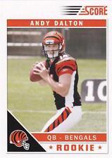 2011 Score #308A Andy Dalton Cincinnati Bengals RC