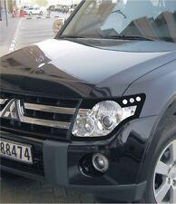 Protection car Headlight Transparent aerodynamic Mitsubishi Pajero Wagon (2006-)