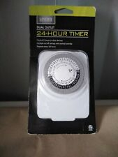 NEW!!! Living Solutions Dual Outlet 24 Hour Timer