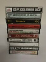 Lot of 10 Vintage Music Cassette Tapes Fully Tested And All Play 100% - 401