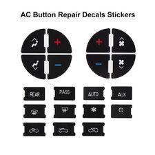 New AC Dash Button Repair Kit for Chevy Avalanche Silverado 1500 GMC Sierra 150