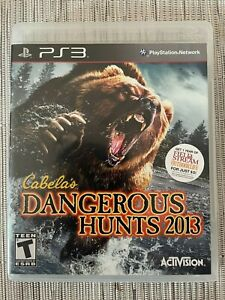 Cabela's Dangerous Hunts 2013 for Sony PS3 / PlayStation 3