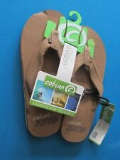 FLIP FLOPS - COBIAN JUMPS - MENS SIZE 8 - NEW WTAGS - BROWN