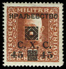 Scott # 1L32 - 1919 - ' Emperor Franz Joseph ', B&H #98 Ovpt Type d in Black