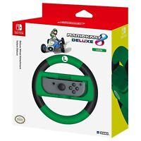 HORI Nintendo Switch Mario Kart 8 Deluxe VOLANT Luigi VERSION NEUF scellé