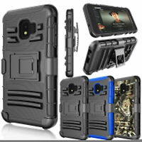 For Samsung Galaxy J2 Core/J2 Dash/J2 Pure 260 Rugged Belt Clip Stand Case Cover