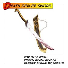 Phicen Hot Death Dealer Sword w/ Sheath Weapon for 1/6 12 in scale Figure Toys