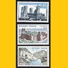 3 TIMBRES POSTE FRANCE 1960 - SERIE TOURISTIQUE - N° 1235/1236/1239 - NEUFS **