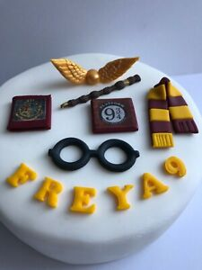 Edible Handmade Harry Potter Style Glasses Personalised Cake Topper Decoration