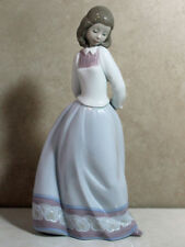 """Lladro Figurine #6754 """"Sweet And Shy"""" New In Box Limited Edition Rare"""