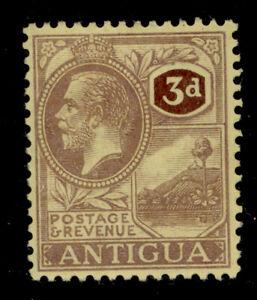 ANTIGUA GV SG55, 3d purple/pale yellow, M MINT.