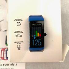 Polar A360 Fitness Activity Tracker Smart Watch Blue Heart Rate Monitor Medium