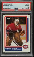 1986-87 Topps #53 Patrick Roy RC Rookie Card - HOF - PSA 9 - MINT - 45142531