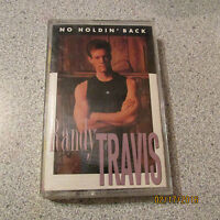 No Holdin' Back by Randy Travis CASSETTE