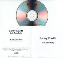 LENNY KRAVITZ Ooh Baby Baby 2015 UK 1-trk promo test CD