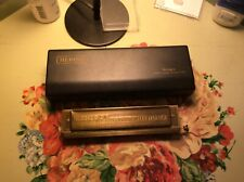Hering 16 hole chromatic harmonica: Refurbished, excellent condition