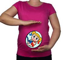 Maglie e camicie rosa in cotone per la maternità
