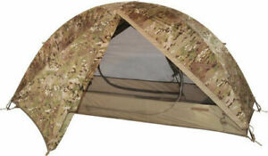 ARMY OCP MULTICAM ONE MAN COMBAT SHELTER LITEFIGHTER 1 BIVOUC BIVY TENT BEDNET