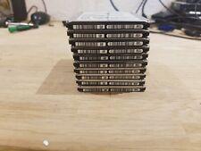 "JOBLOT OF 10X 250GB LAPTOP 2.5"" SATA HARD DRIVES 7mm THIN HARD DRIVES"
