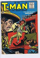 T-Man #36 Quality 1956