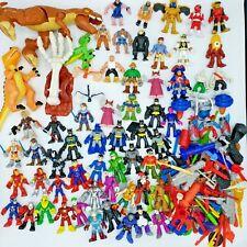 Imaginext Super Friends Hero Squad Lot 70 Figures Weapon DC Marvel Power Rangers