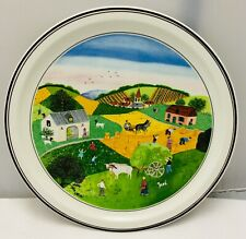 Villeroy & and Boch Laplau Design Naif THE FOUR SEASONS - Summer No2 BN053 plate