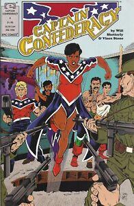 Captain Confederacy #4   February 1992   MARVEL / Epic