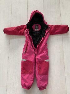 name it Schnee Overall Winter Schneeanzug gefüttert Gr. 104 Pink