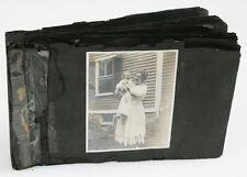 AMERICAN FAMILY PHOTO ALBUM, ALLENTOWN PA. 1870S TO 1920S
