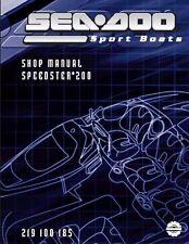 Sea-Doo Service Shop Manual 2004 SPEEDSTER 200