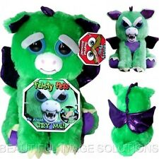 FEISTY PETS Stuffed Dragon Turns Feisty GROWLS with Squeeze BEST SELLING TOY