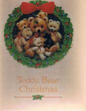 """Teddy Bear Christmas"" 150 piece 12"" Round jigsaw puzzle Current"