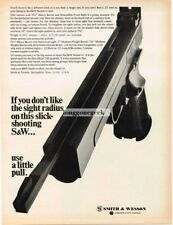 1968 S&W Smith & Wesson Model 41 .22 Pistol Vtg Print Ad
